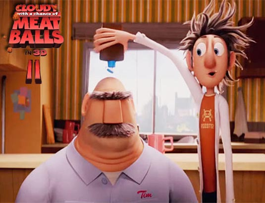 Cloudy 2: Revenge of the Leftovers (Cloudy with a Chance of Meatballs 2)