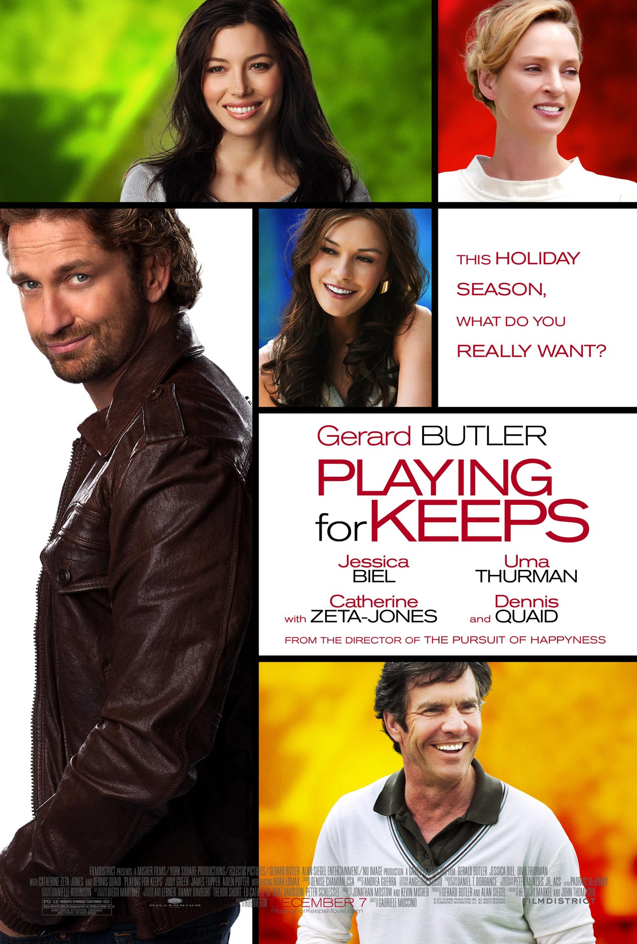 PLAYING FOR KEEPS Trailer and Final Poster – FilmoFilia