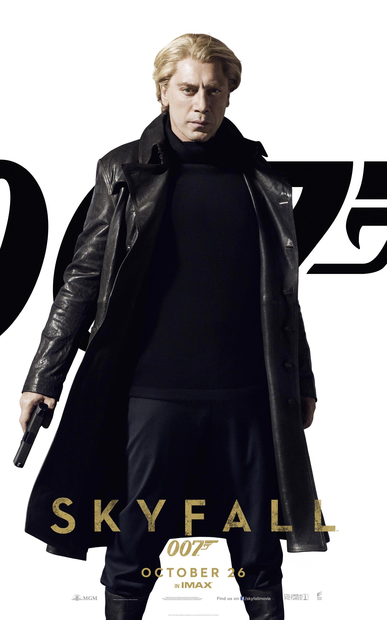 SKYFALL Banner and Character Posters