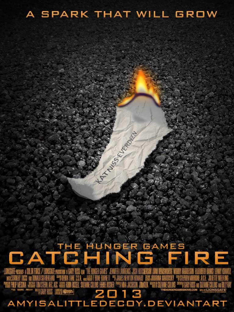 Wiress catching fire poster