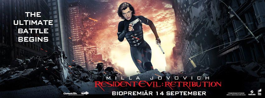 7 New Posters And 10 Photos From Resident Evil Retribution