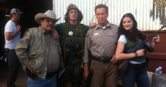 First Look at Arnold Schwarzenegger's The Last Stand