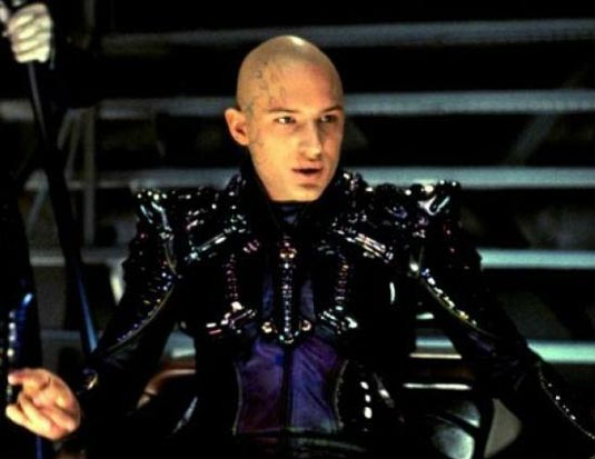 Tom Hardy in Star Trek: Nemesis