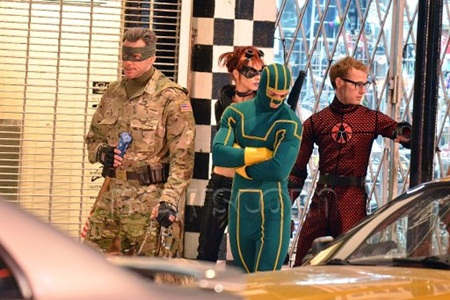 Kick-Ass 2 Set Photo