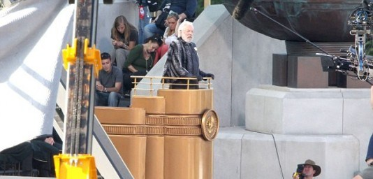 The Hunger Games Catching Fire Set Photos