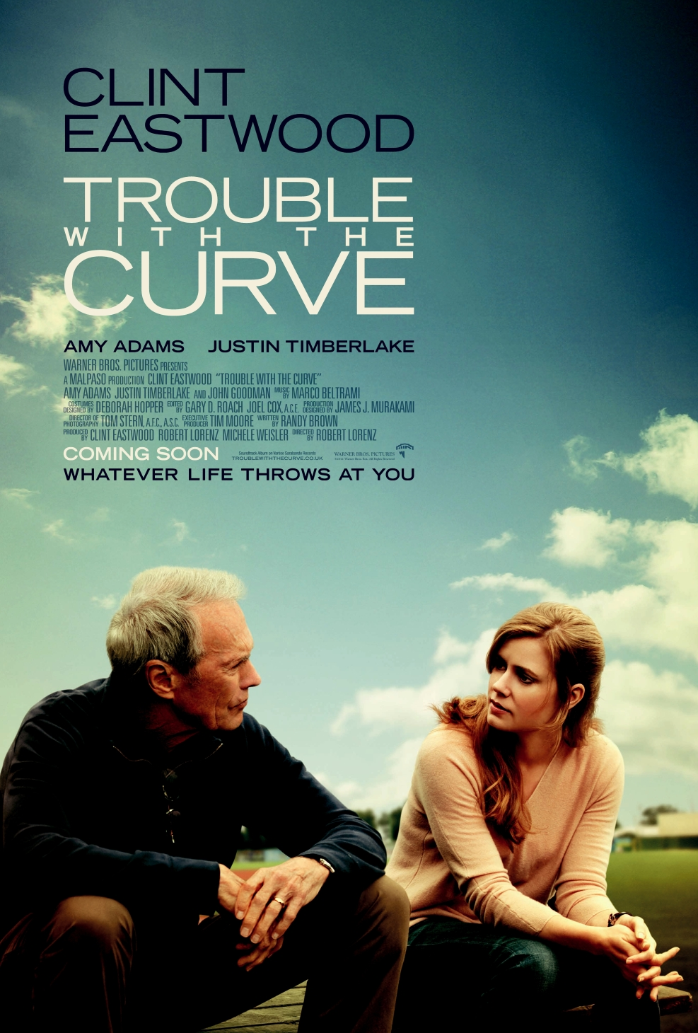 Golpe de efecto (Trouble with the Curve) (2012) Trouble-with-the-Curve-UK-Poster