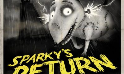 Frankenweenie Retro Monster Poster 03