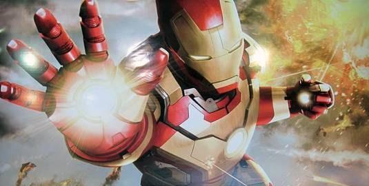 IRON MAN 3 Promotional artwork