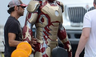 IRON MAN 3 Set Photo 01.
