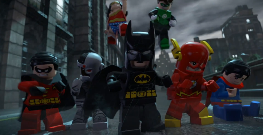 Trailer for the movie based on the 2012 lego batman 2 video game
