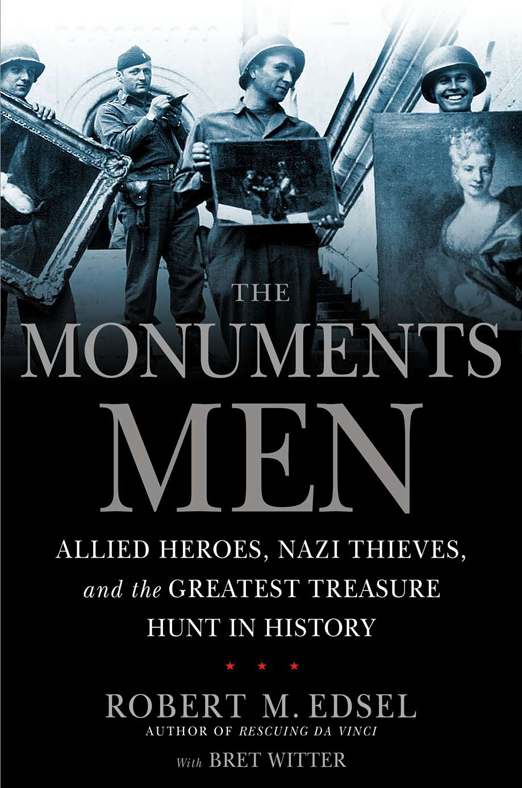 Monuments Men - Book Cover