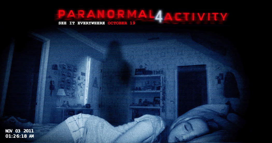 Paranormal Activity 4 Movie for iPod, iPad, iPhone and Kindle
