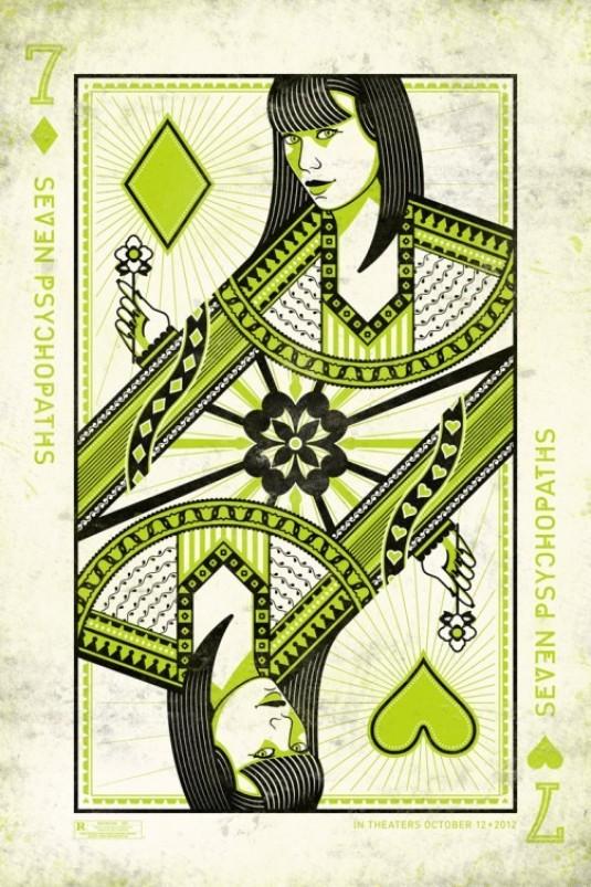 SEVEN PSYCHOPATHS Olga Kurylenko Artistic Poster
