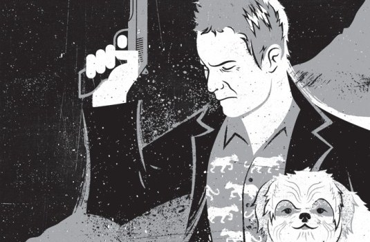 Seven Psychopaths Art Posters
