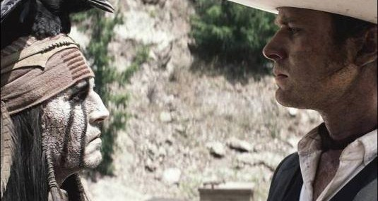 The Lone Ranger New Images