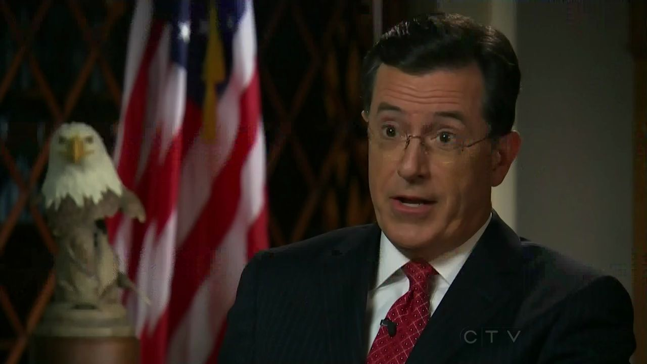 Colbert Report Book List