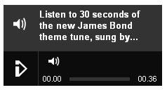 Adele's New Song 'Skyfall' From James Bond
