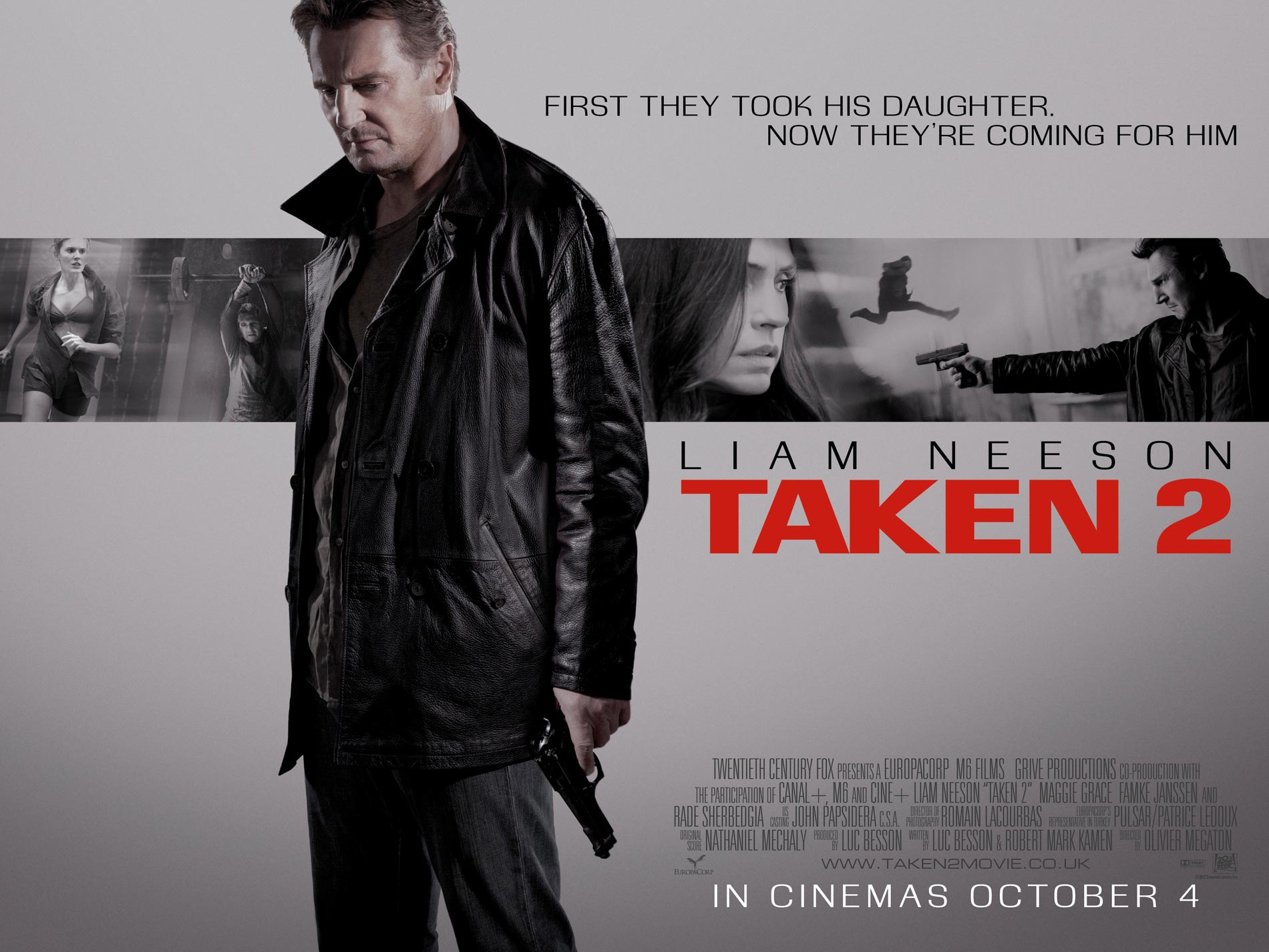 Taken International Box Office Rentrak