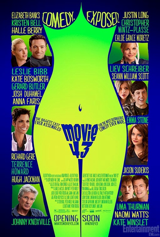 Movie 43 - Poster