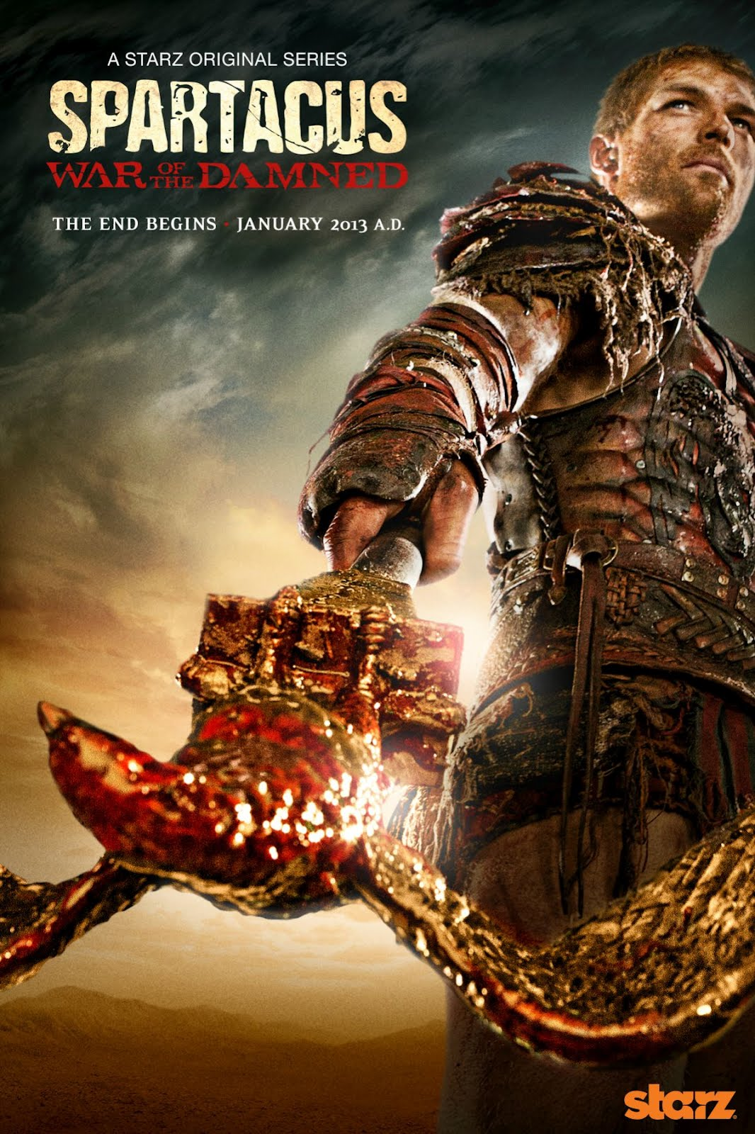 Starz Announced Premiere Date for Spartacus: War of the ...