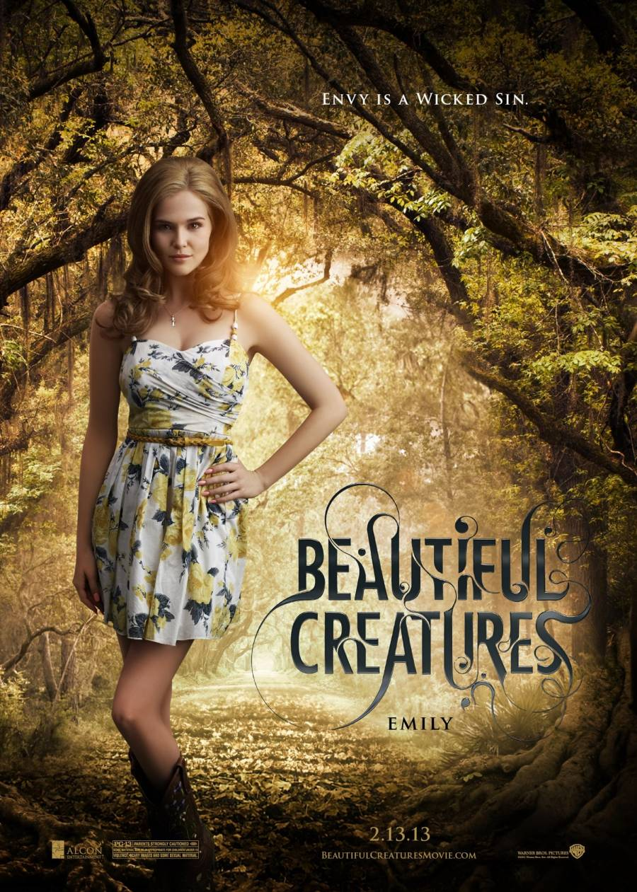 BEAUTIFUL CREATURES Character Poster: Zoey Deutch As Emily ...