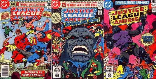 Justice League of America #183-185