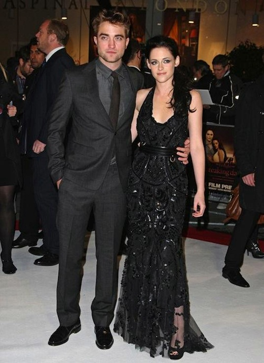 Kirsten Stewart and Robert Pattinson