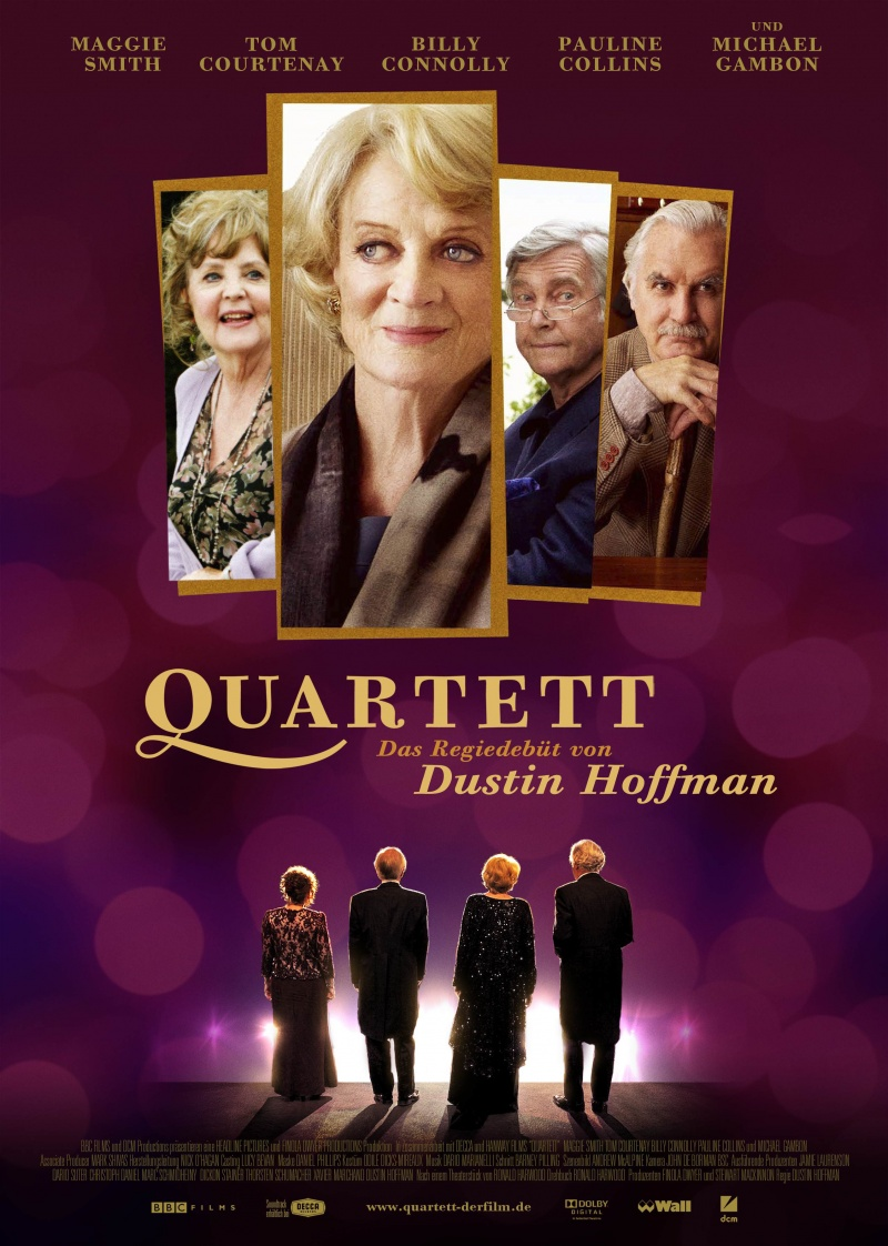 Check out the posters below Quartet Movie