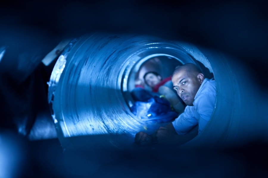 Here S A New Red Band Trailer For Upcoming Noel Clarke Monster Movie Led Storage 24