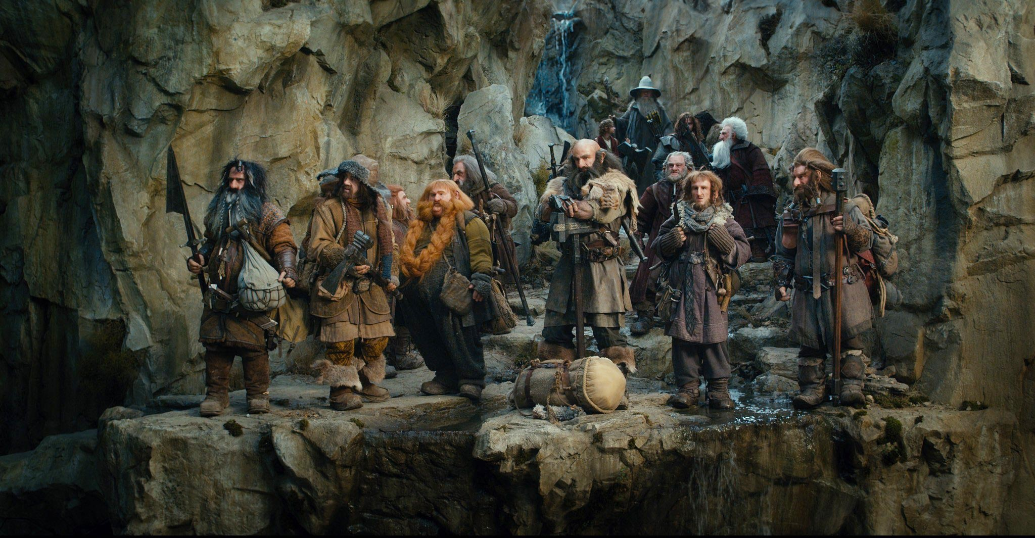 Hobbit unexpected journey really. All