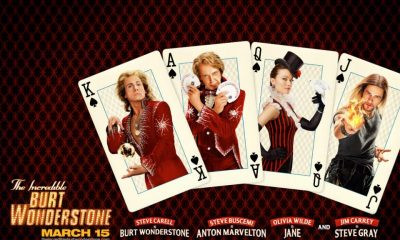 The Incredible Burt Wonderstone Quad Poster