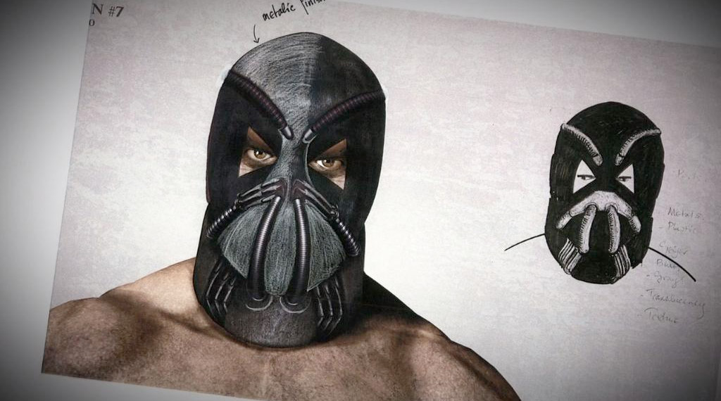 Character Design Nait : See how bane almost looked like in the dark knight rises