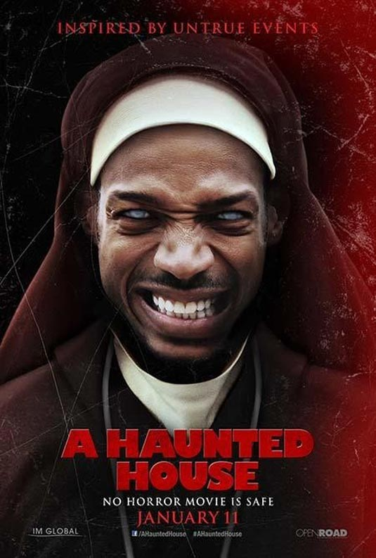 A Haunted House Poster