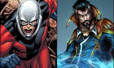 Ant-Man -- Dr Strange -- Marvel
