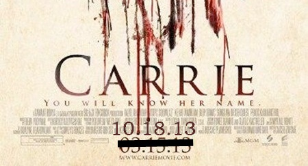 Carrie - Second Poster - Detail