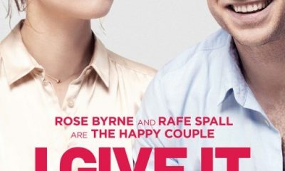 I GIVE IT A YEAR Rose Byrne and Rafe Spall Poster 01