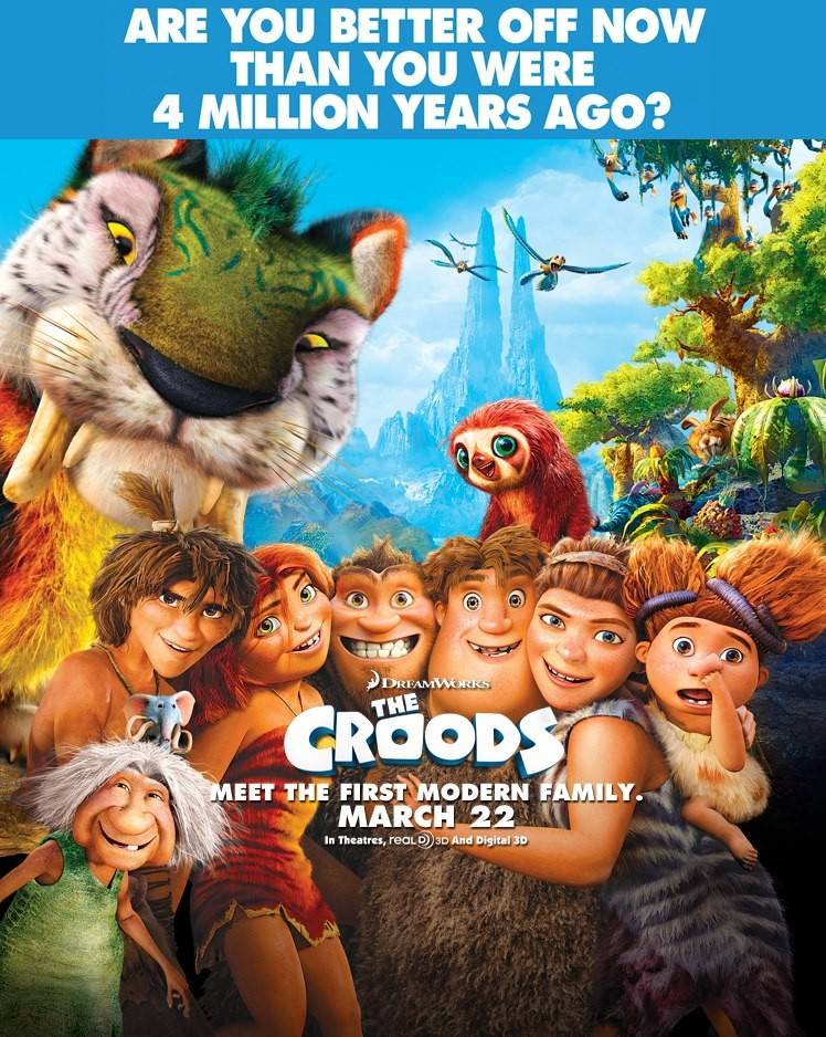meet the croods 2013