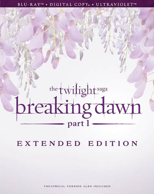 THE TWILIGHT SAGA BREAKING DAWN PART 1 EXTENDED EDITION Full Cover