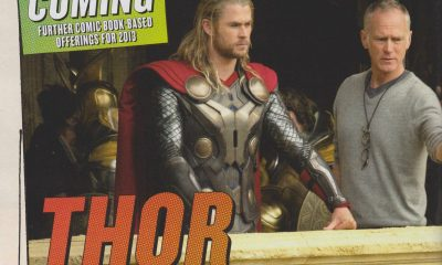 Thor: The Dark World set photo
