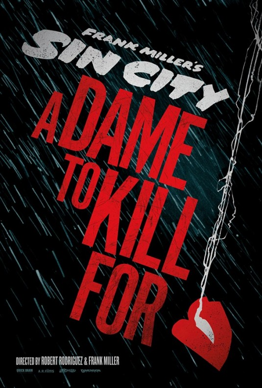 Sin City-A Dame to Kill For - Poster