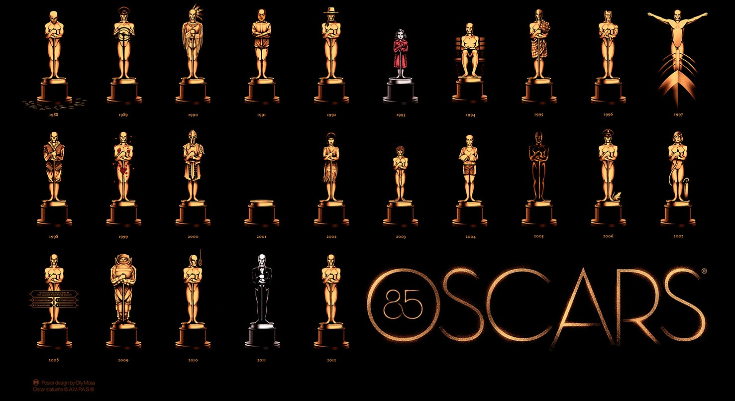 Olly Moss' Official 2013 Academy Awards Poster