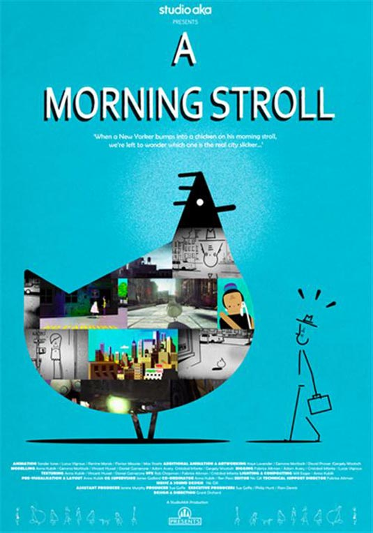 A Morning Stroll Poster