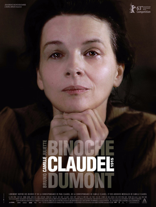 Camille Claudel 1915 Poster