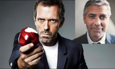 Hugh Laurie-George Clooney
