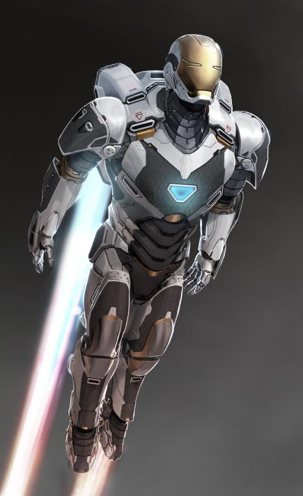Iron Man 3 Concept Artwork 1