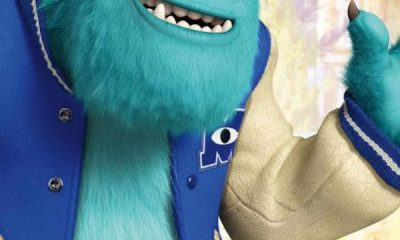 Monsters University James P. Sullivan Poster
