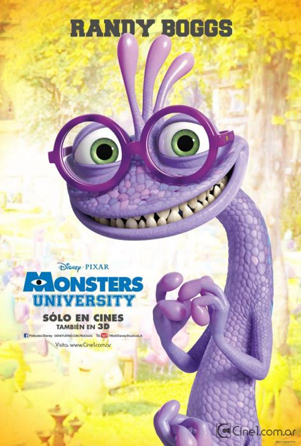 New Monster University Character Posters