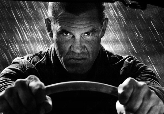 Sin City 2-Josh Brolin - Behind-the-Scenes
