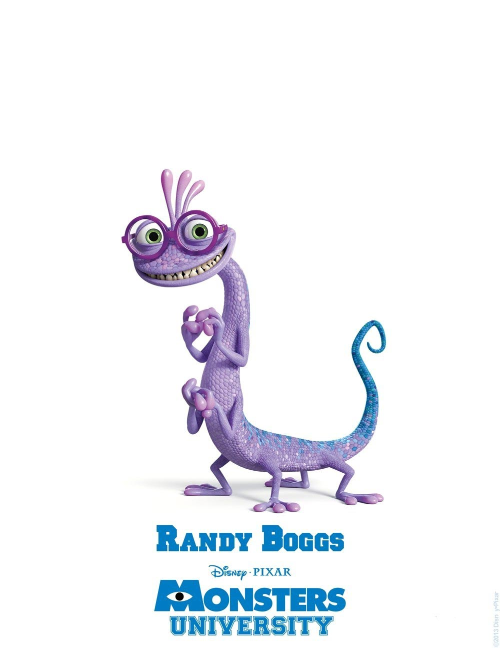 MONSTERS UNIVERSITY Character Posters and ID cards