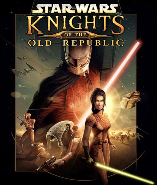 Knights of the Old Republic DVD cover